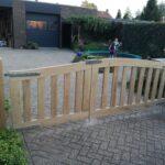 houten hekwerk